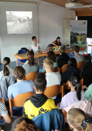 Bildungstätte Grenzlandmuseum Konzert Schülerprojekt