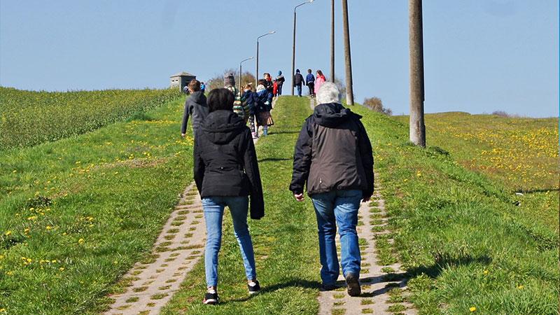 Wanderung auf dem Grenzlandweg