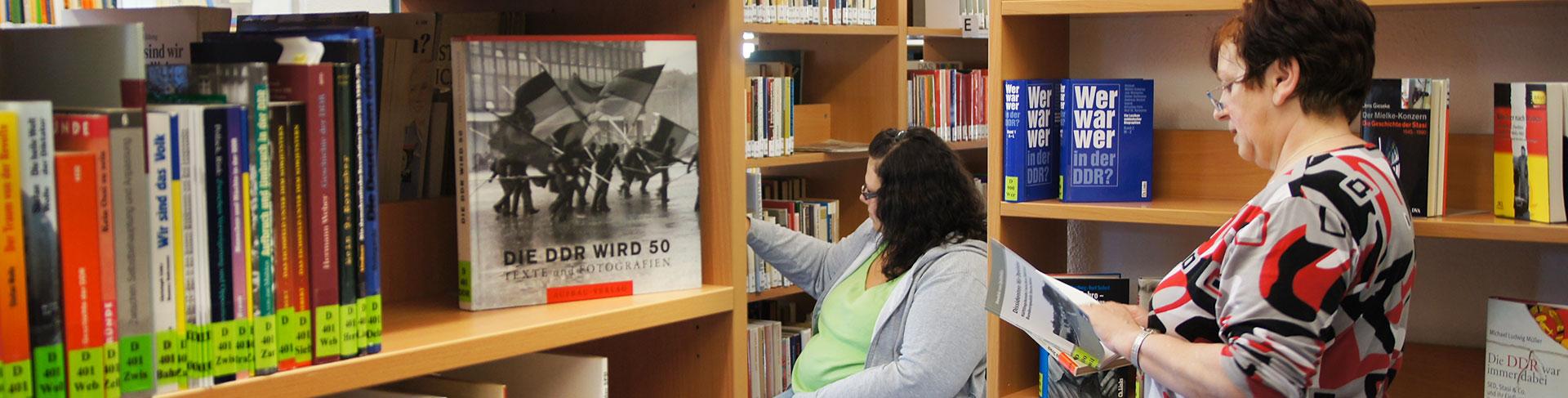 Ihre Ansprechpartner*innen in der Bibliothek