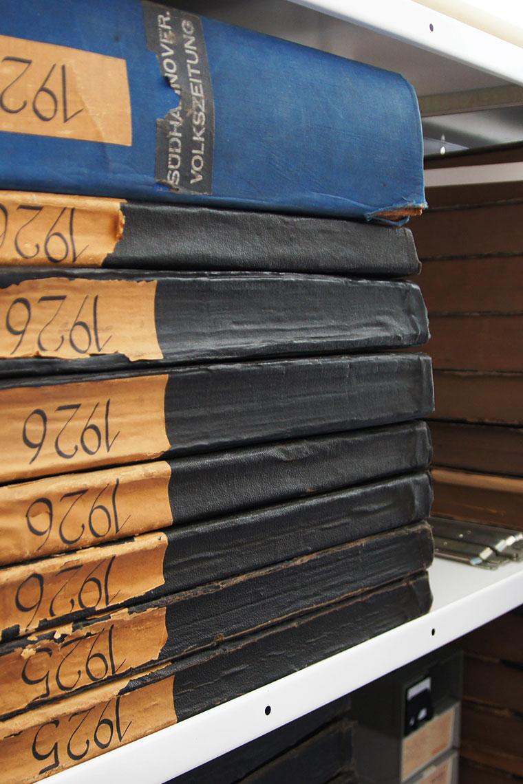 Alte Bücher aus dem Museusarchiv
