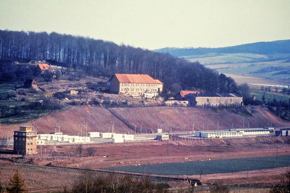 Grenzübergang im Eichsfeld