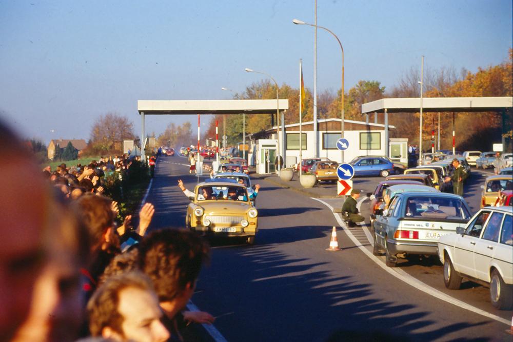 Öffnung der innerdeutschen Grenzübergänge