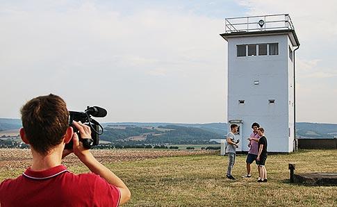 Filmprojekt an einem ehemaligen Grenzposten